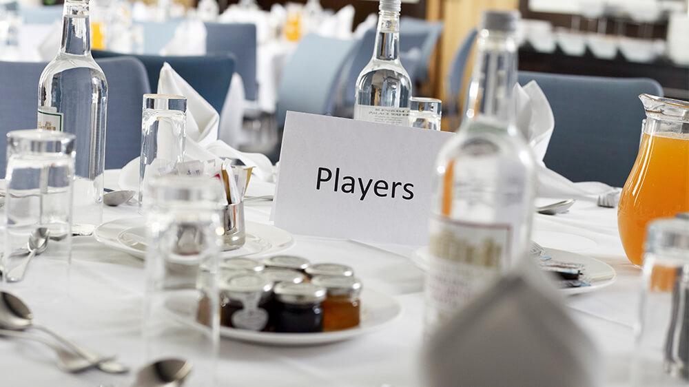 Football Team Management Restaurant